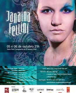 LANÇAMENTO DO DISCO DE JANAINA FELLINI!