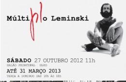 "EXPOSIÇÃO ""MÚLTIPLO LEMINSKI""- MON (CURITIBA-PR)"